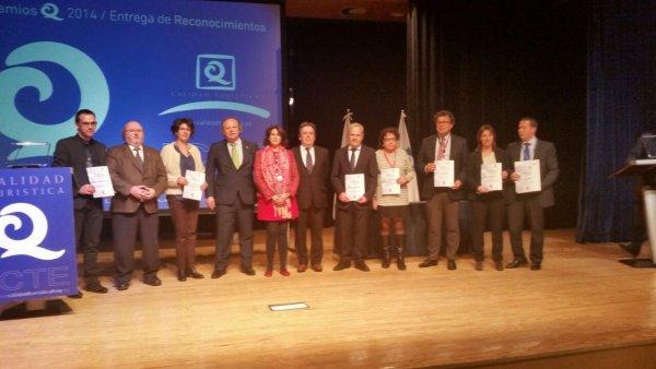 Santa Susanna rep els reconeixements de qualitat turística a Fitur 2015