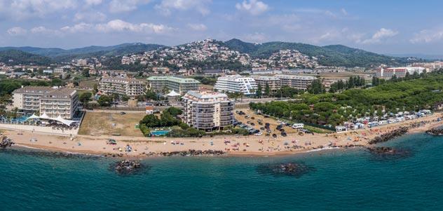 Северное побережье Коста де Барселона
