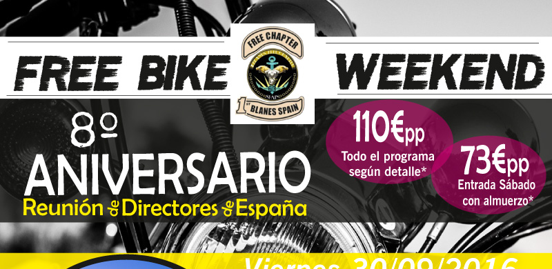 Free Bike weekend