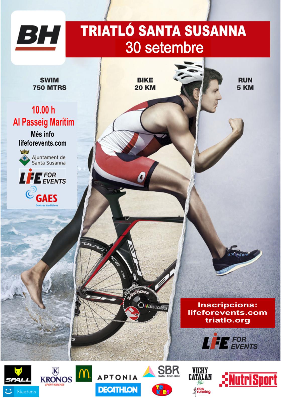 Santa Susanna's Triathlon