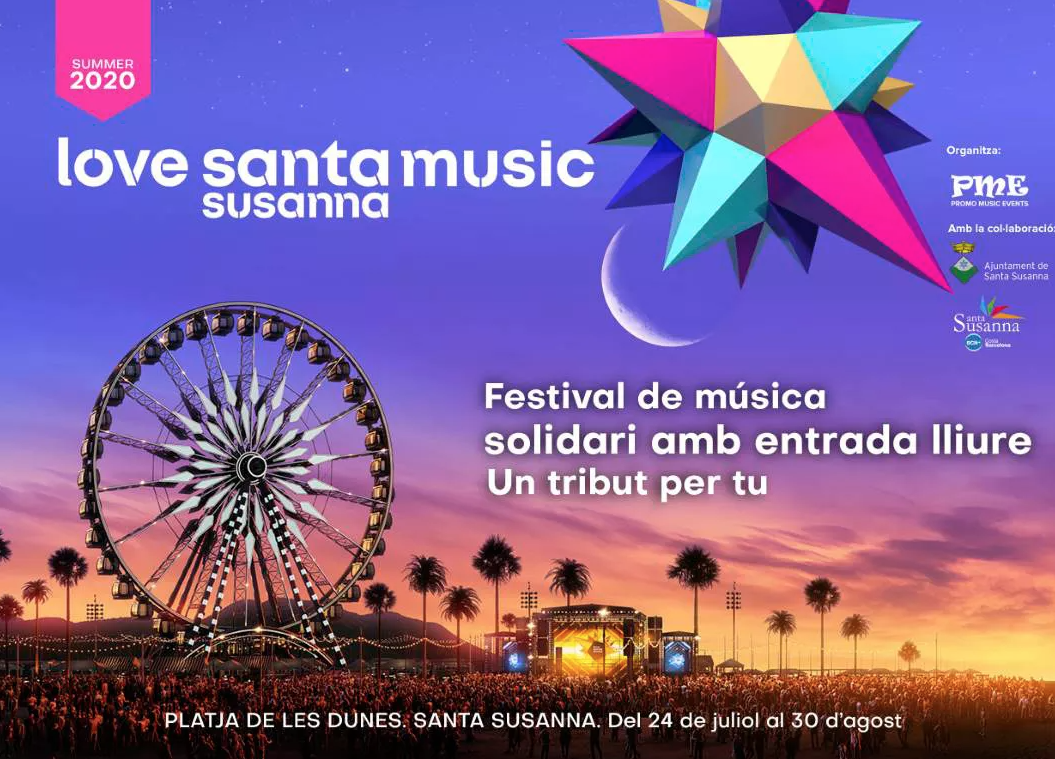 Santa Susanna organitza un festival de música gratuït a la platja que es dirà Love Santa Music